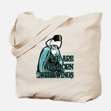 Born with Wings Tote Bag