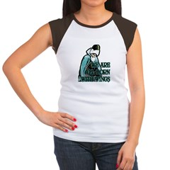Born with Wings Women's Cap Sleeve T-Shirt