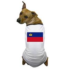 Flag of Liechtenstein Dog T-Shirt