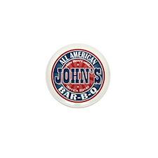 John's All American BBQ Mini Button (10 pack)