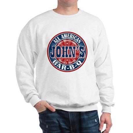 John's All American BBQ Sweatshirt