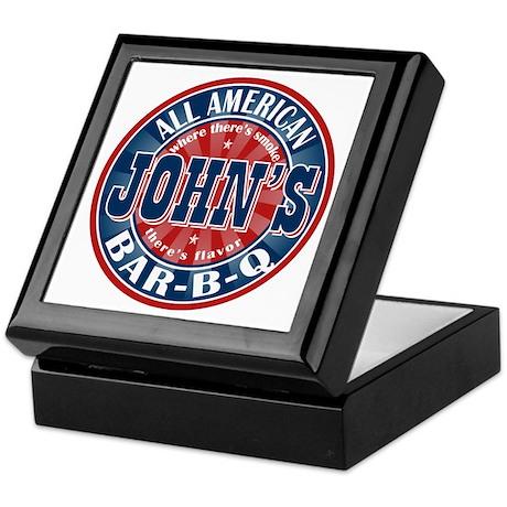 John's All American BBQ Keepsake Box