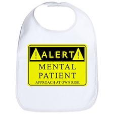 Mental Patient Warning Sign Bib