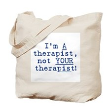 I'm A Therapist Tote Bag