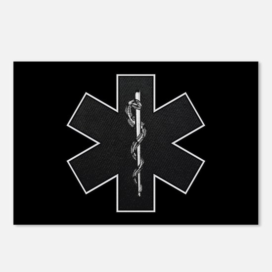 Star of Life(BW) Postcards (Package of 8)