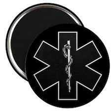 "Star of Life(BW) 2.25"" Magnet (10 pack)"