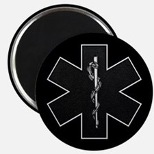 Star of Life(BW) Magnet