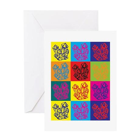 Rockhounding Pop Art Greeting Card