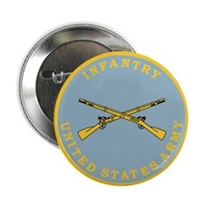 1-128th Infantry <BR>Infantry Button