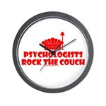 Rock The Couch Wall Clock
