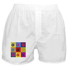 Records Pop Art Boxer Shorts