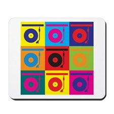 Records Pop Art Mousepad