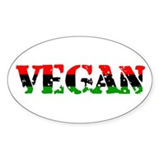 Vegan Revolution Oval Decal