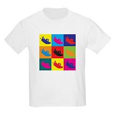 Rafting Pop Art T-Shirt