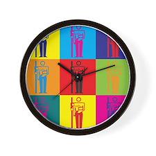 Radiology Pop Art Wall Clock