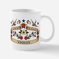 Live Love Violin Mug