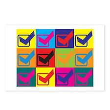 Quality Assurance Engineering Pop Art Postcards (P