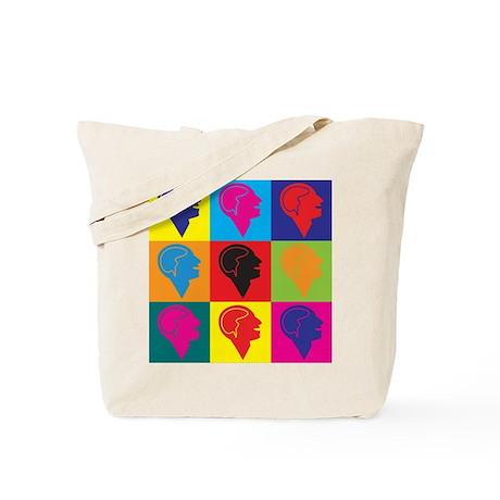 Psychology Pop Art Tote Bag