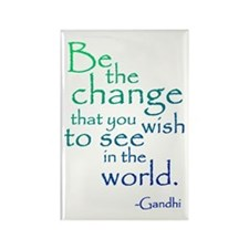 Gandhi Rectangle Magnet (10 pack)