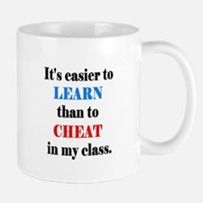 IT'S EASIER TO LEARN THAN TO Mug