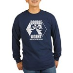 Double Agent Long Sleeve Dark T-Shirt