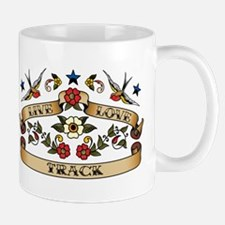 Live Love Track Mug