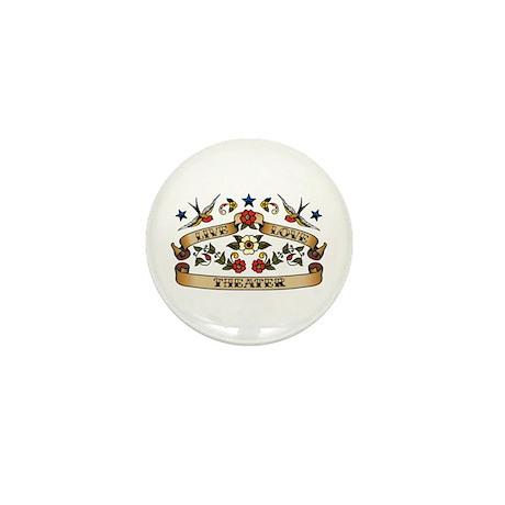 Live Love Theater Mini Button (10 pack)