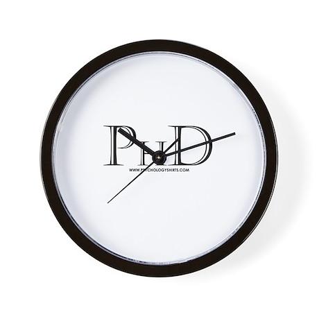 PhD Wall Clock