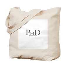 PhD Tote Bag