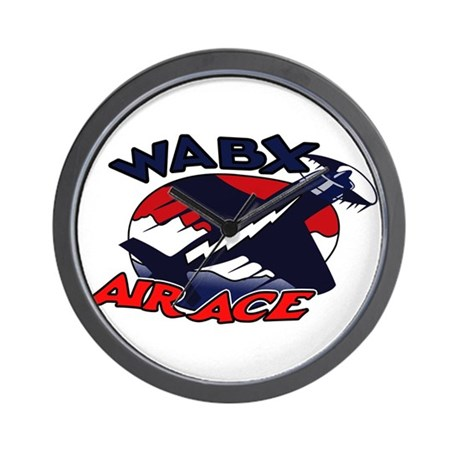 WABX Air Aces Wall Clock