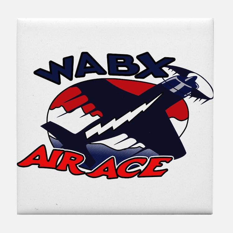 WABX Air Aces Tile Coaster