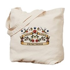 Live Love Teaching Tote Bag