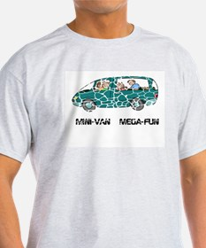 "Mini-Van Mega Fun ""Cracked"" T-Shirt"