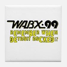 "WABX ""Remember"" Tile Coaster"