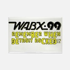 """WABX """"Remember"""" Rectangle Magnet"""