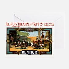 Ben Hur Greeting Card