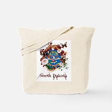 Butterfly North Dakota Tote Bag