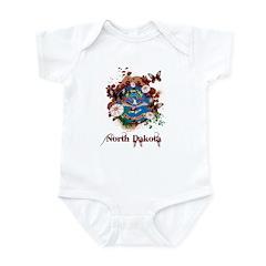 Butterfly North Dakota Infant Bodysuit