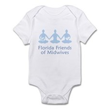 Florida Friends of Midwives Infant Bodysuit