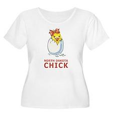 North Dakota Chick T-Shirt
