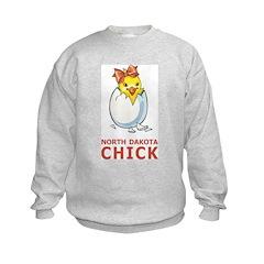North Dakota Chick Sweatshirt