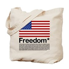 Freedom Terms and Conditions Tote Bag