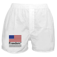 Freedom Terms and Conditions Boxer Shorts