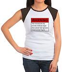 Homosexual Warning Women's Cap Sleeve T-Shirt
