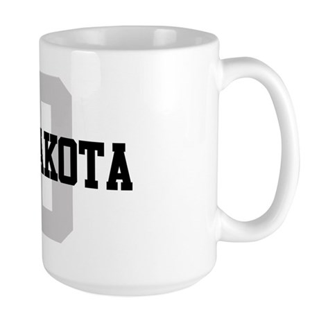ND North Dakota Large Mug