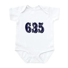 635 Infant Bodysuit