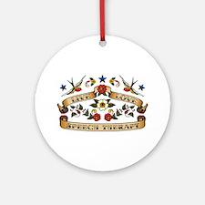 Live Love Speech Therapy Ornament (Round)