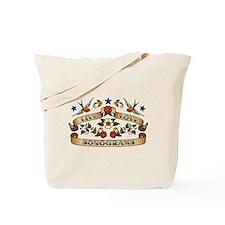 Live Love Sonograms Tote Bag