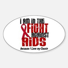 In The Fight Against AIDS 1 (Cousin) Decal