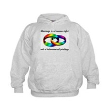 Marriage is a Human Right Hoodie